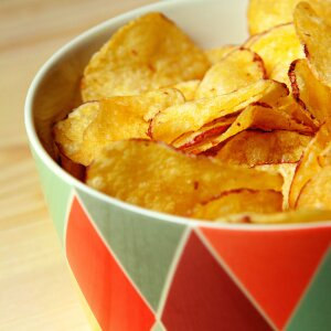 Crusty Paprika Chips